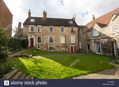 buy house in lincoln georgian style house in james street lincoln lincolnshire england stock photo