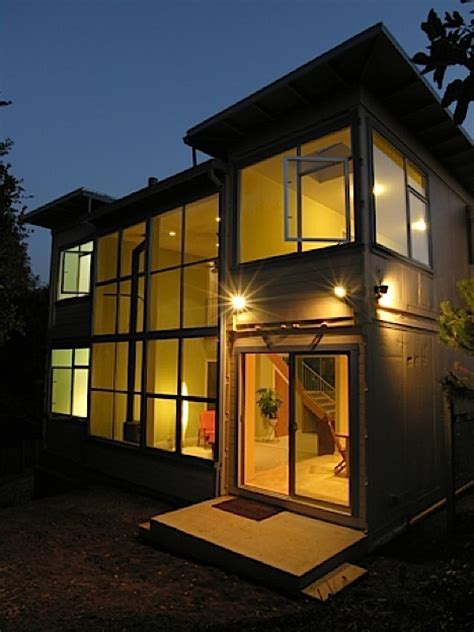 Connex House by Shipping Container Homes Container House California