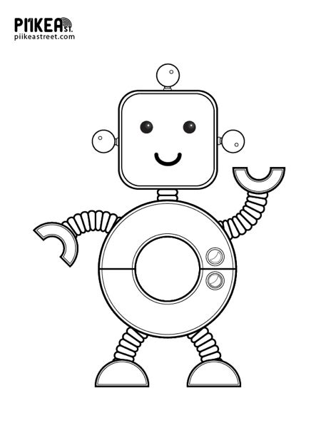 robot dog coloring page pictures of robots to color robot coloring page robot