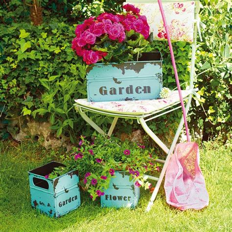 Garden Deco Vintage Garden Decor Ideas Littlepieceofme