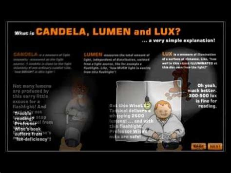 lumens to candela candela lumens and a simple explanation