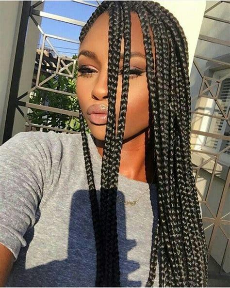 fashion with single braids pinterest badgalronnie black hair izzzz