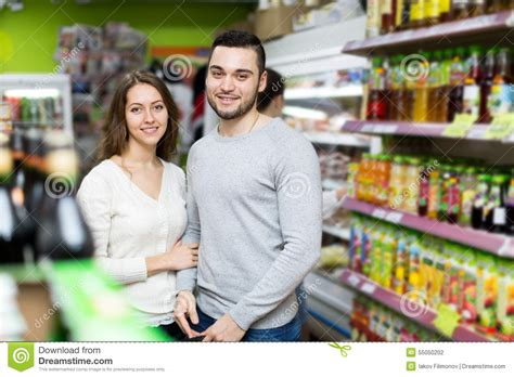 Couples Store Near Me At The Grocery Store Stock Photo Image 55050202