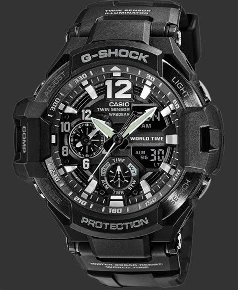 Gshock Ga 1100 Black g shock watches premium