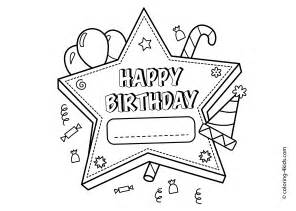 happy birthday coloring page happy birthday coloring pages 2017 dr