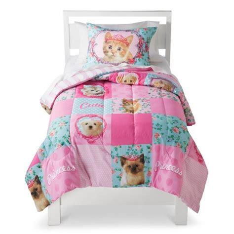 princess comforters princess kitty comforter set target