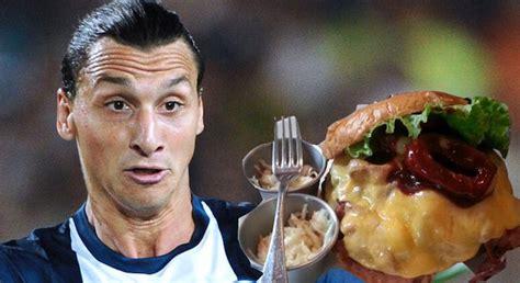 kylian mbappe diet introducing the zlatan ibrahimovic burger sick chirpse
