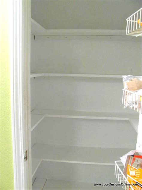 Wood Pantry Shelving Kitchen Pantry Makeover Diy Installing Wood Wrap Around