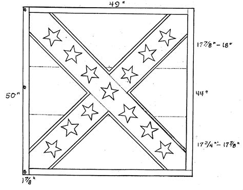 free civil war union flag coloring pages