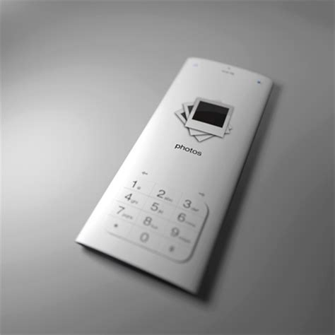 How To Make A Paper Touch Screen Phone - futuristic and cool mobile phone designs by mac funamizu