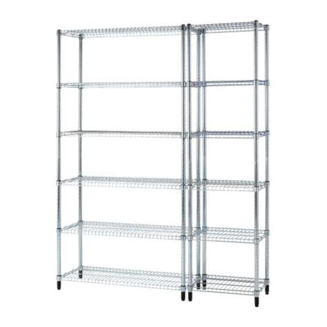 omar 2 shelf sections ikea