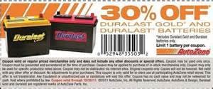 Car Battery Deals Autozone 30 Autozone Batteries Until 12 20