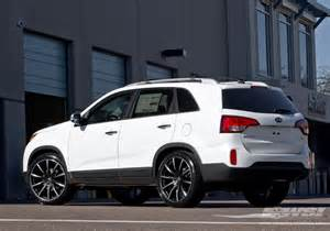 2014 kia sorento with 22 quot gianelle cuba 10 in matte black