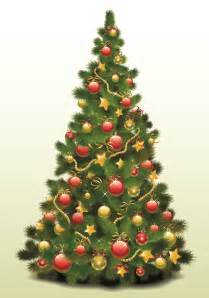 exquisite christmas tree 3 vector free vector 4vector