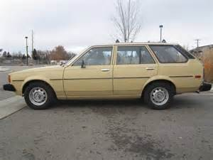 1981 Toyota Corolla Wagon 1981 Toyota Corolla Wagon Original Owner A C For Sale