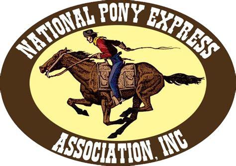 Pony Express original pony express logo www imgkid the image