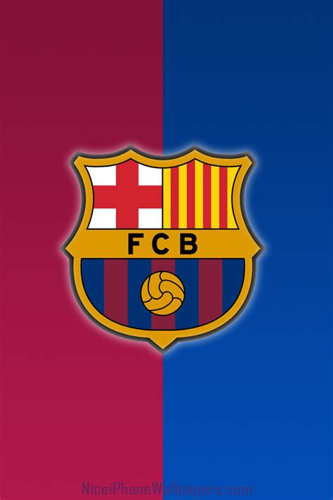 barcelona wallpaper ios fc barcelona hd logo iphone 4 4s wallpaper and background