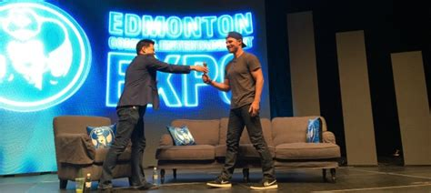 tattoo expo edmonton 2016 arrow 8 things we learned from stephen amell at the