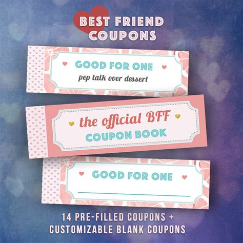 Wedding Gift Ideas For Your Best Friend by Best Friends Gifts Diy Coupon Book Single Friend Bff