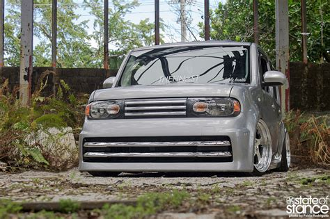 stanced nissan cube don t be a square nissan cube state of stance