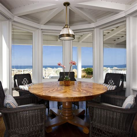 beach dining room traditional beach house