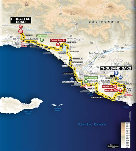 amgen thousand oaks cus map who will conquer the amgen tour s stage