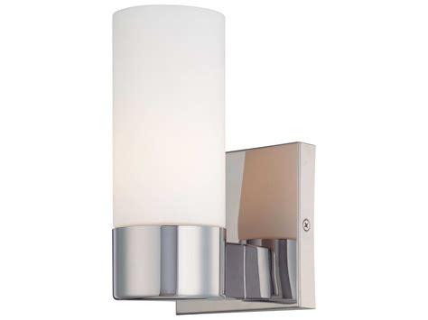 hton bay sconce lighting chrome wall sconce grancona 1 light polished chrome wall
