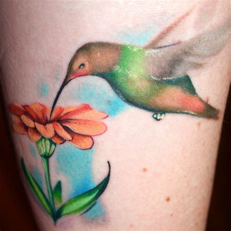 tattoos of humming bird flowers and hummingbird tattoos