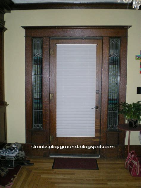 Curtains For Front Door Window Front Doors Creative Ideas Front Door Curtain