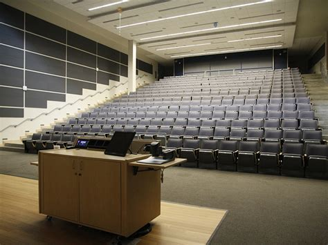 lecture room empty materials science and engineering lecture room highlander