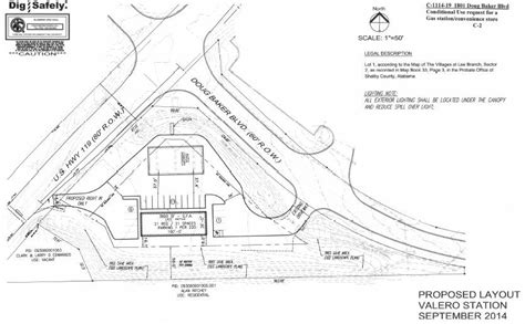 layout plan for voting station hoover city council rejects valero gas station on alabama