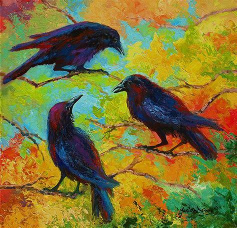 relaxing paintings fine art america crow paintings fine art america
