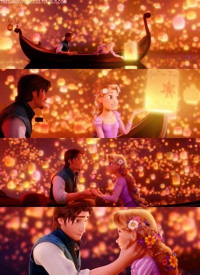 film disney romantis day 9 most romantic moment i see the light guys this