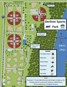 berliner park is the largest softball complex in the u s