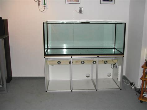 gestell aquarium marinesystems aluminiumgestell 150x60x70cm marinesystems