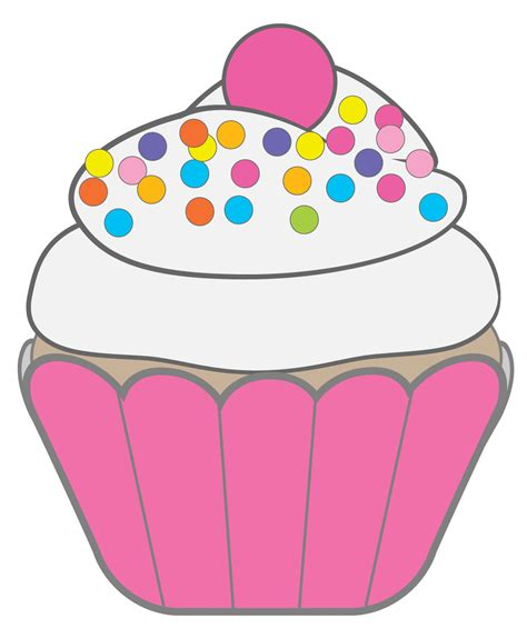 clipart free cupcake clipart black and white free clipart images