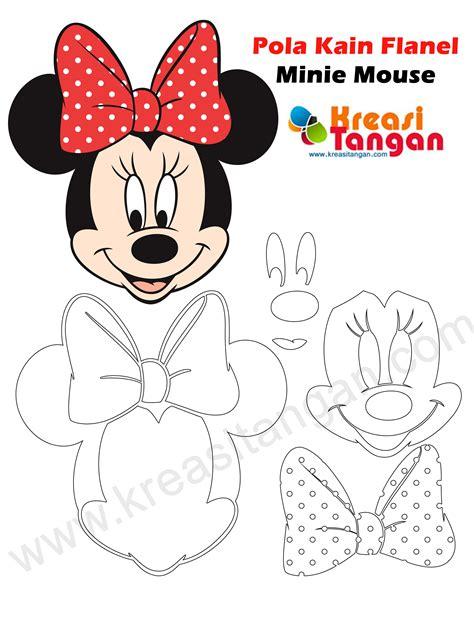 Boneka Minnie Disney pola boneka flanel penelusuran boneka flanel