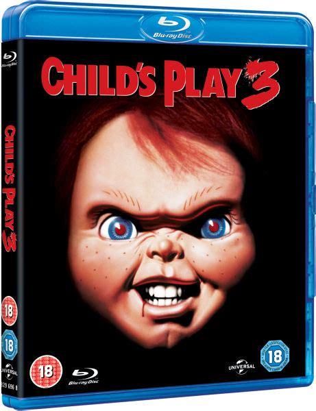 3d childsplay childs play 3 blu ray zavvi