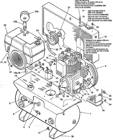 coleman powermate air compressor parts