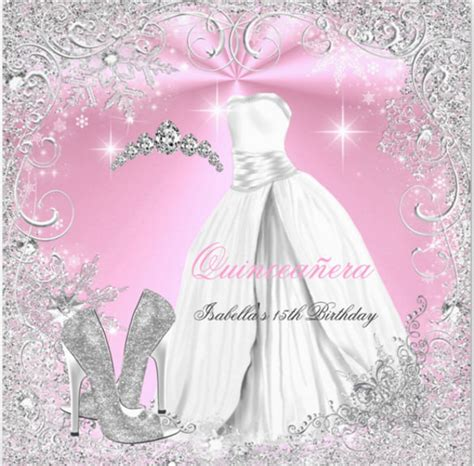 18 quinceanera invitation templates free sle