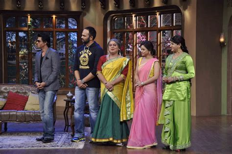 comedy nights with kapil on the sets the times of india chennai express promotion on the sets of comedy nights