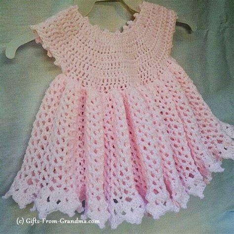 pattern dress easy free easy cute crochet baby dress pattern free crochet