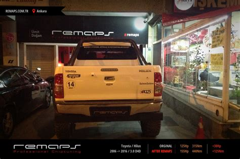 toyota ta chip tuning toyota hilux 2006 gt 2016 3 0 d4d chip tuning performans