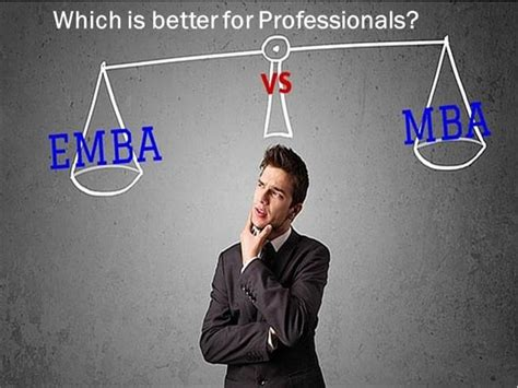 Mba Vs Emba Which Is Better by Mbamba Vs Executive Mba Which Is Better For Professionals