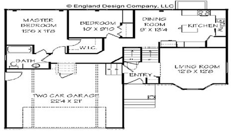 split level ranch home level split house plans blueprints