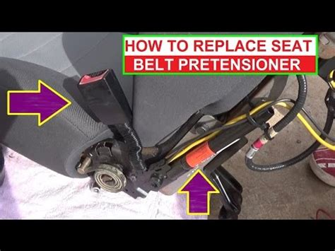 replace seat belt buckle seatbelt replacement doovi