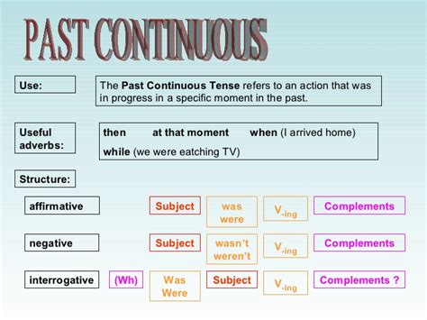 the pattern of past continuous tense ingilizce past continuous tense konu anlatımı