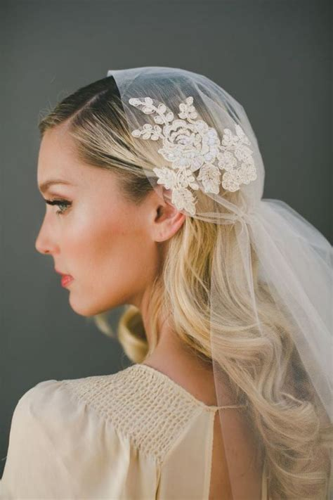 Wedding Hairstyles Cathedral Veil by 36 Beautiful Hairstyles To Rock With Veils Weddingomania