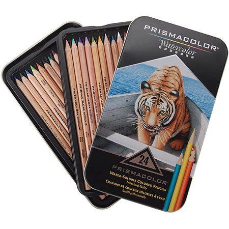 prismacolor premier watercolor colored pencils prismacolor watercolor pencils 24 pkg walmart