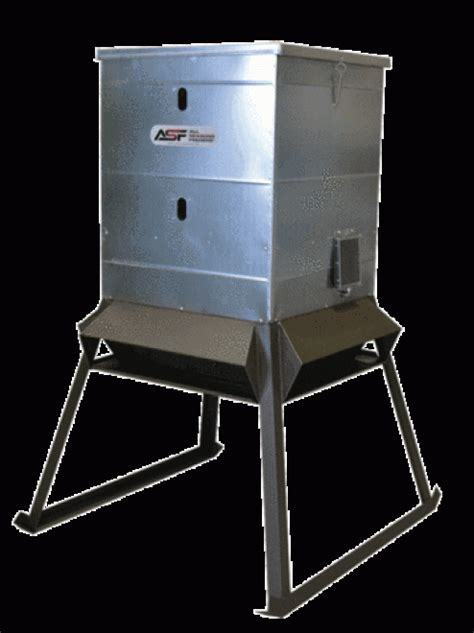 Electric Deer Feeder Sdh Outdoors 500lb Evolution Extended Protein Feeders